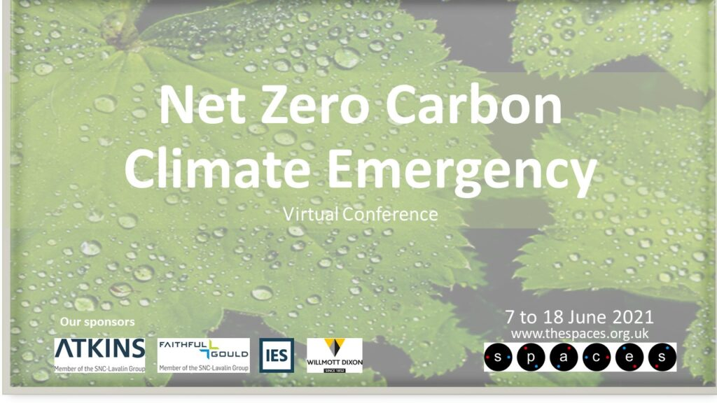 Net Zero and Carbon Climate Emergency virtual conference 7-18 June 2021